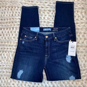 7 for all Mankind Blair ankle skinny jean